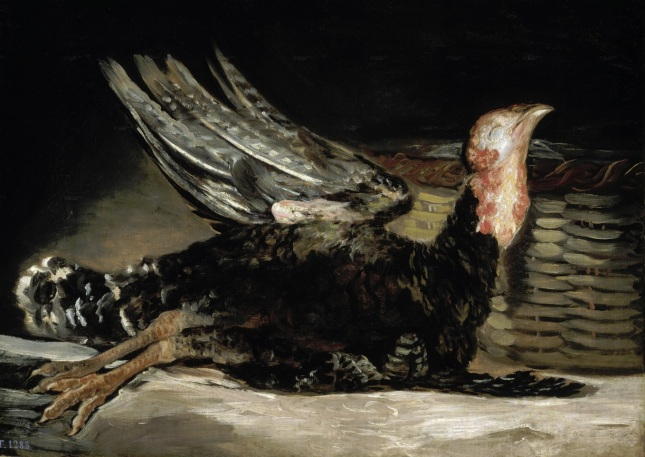 Pavo muerto