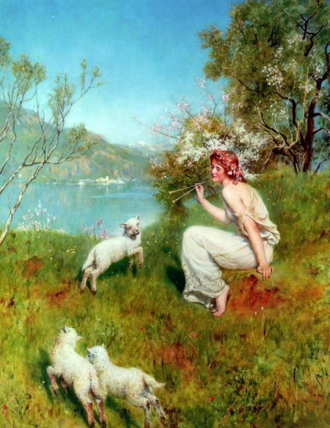 Primavera, melodía para los corderos