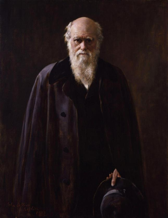Retrato de Charles Robert Darwin
