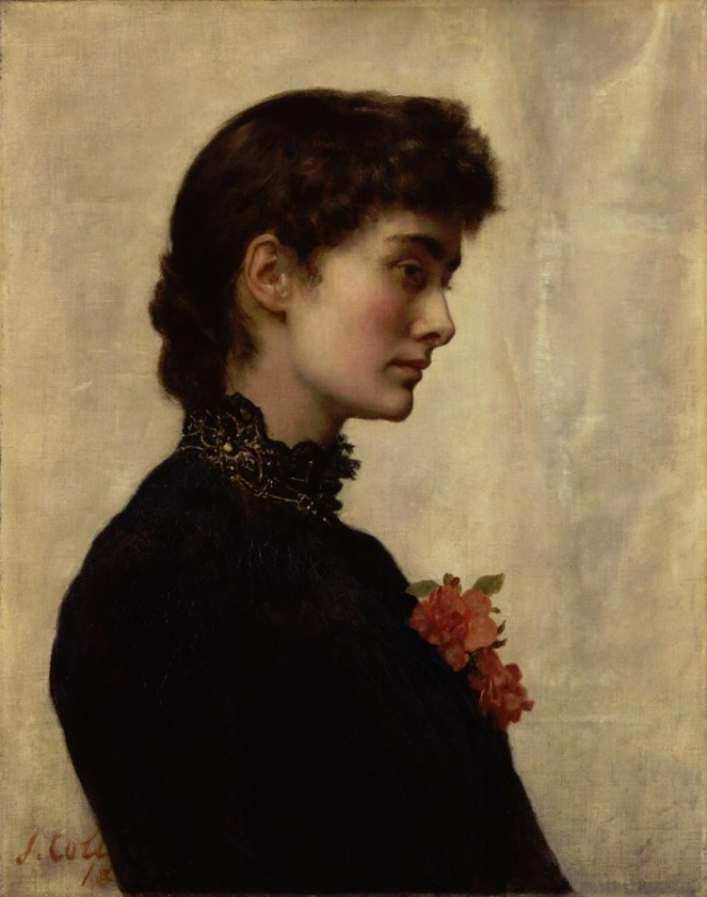 Retrato de Marion Collier