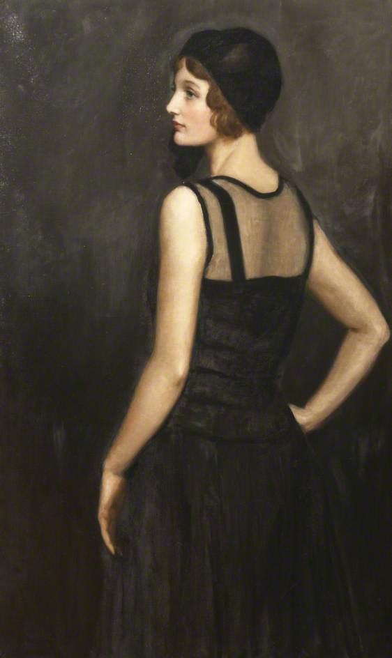Retrato de Mrs Osborne