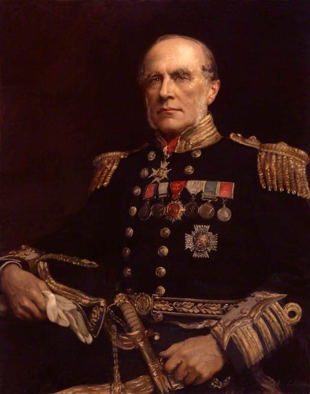 Retrato de Sir Edward Augustus Inglefield