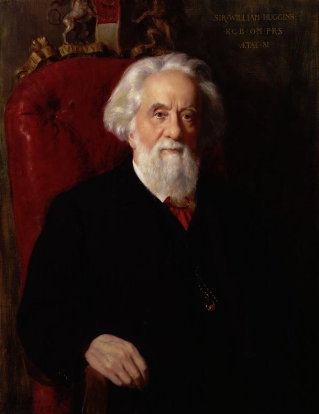 Retrato de Sir William Huggings