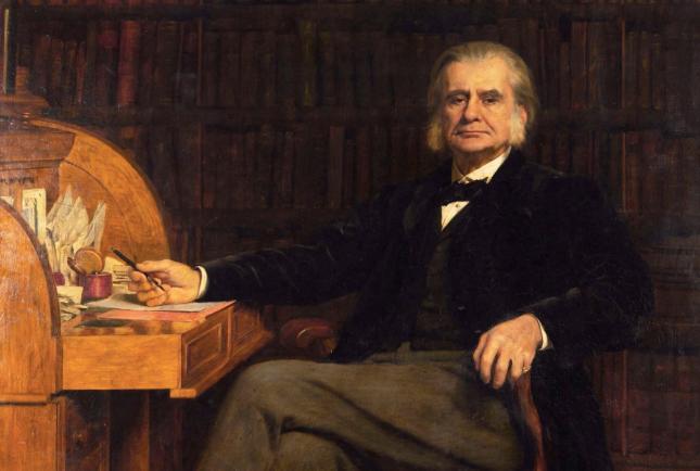 Retrato de Thomas Henry Huxley