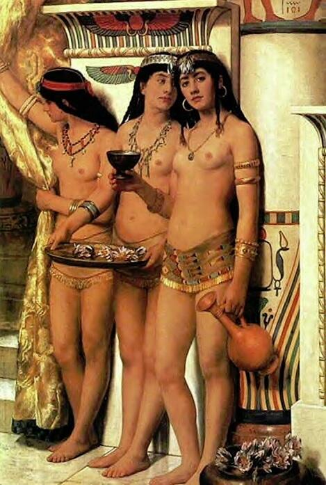 Siervas del Faraón
