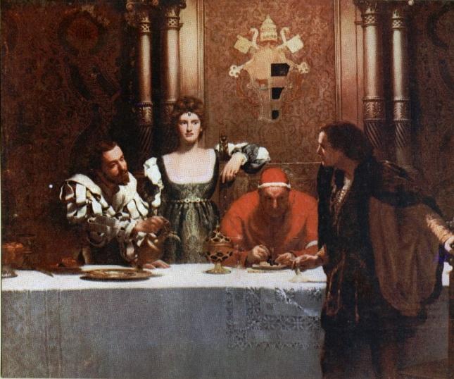 Una copa de vino con César Borgia