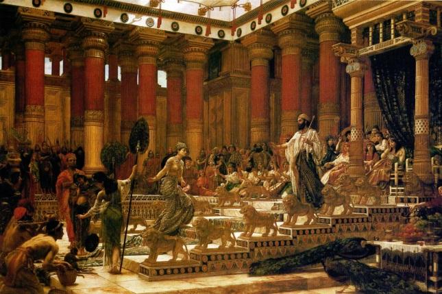 Visita de la Reina de Saba al Rey Salomón