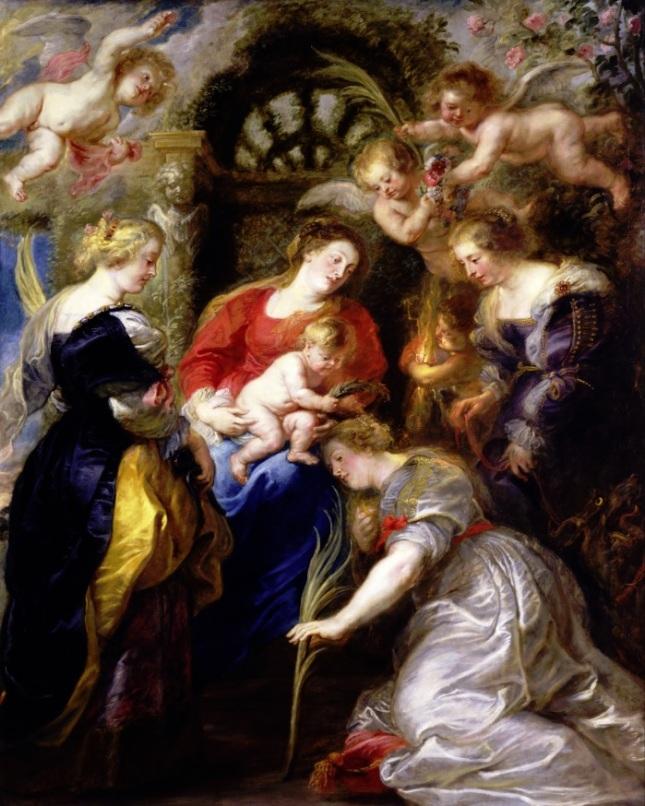 Coronación de Santa Catalina