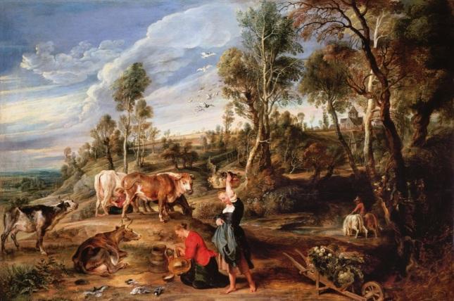 La granja en Laken