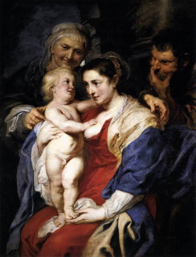 La Sagrada Familia con Santa Ana