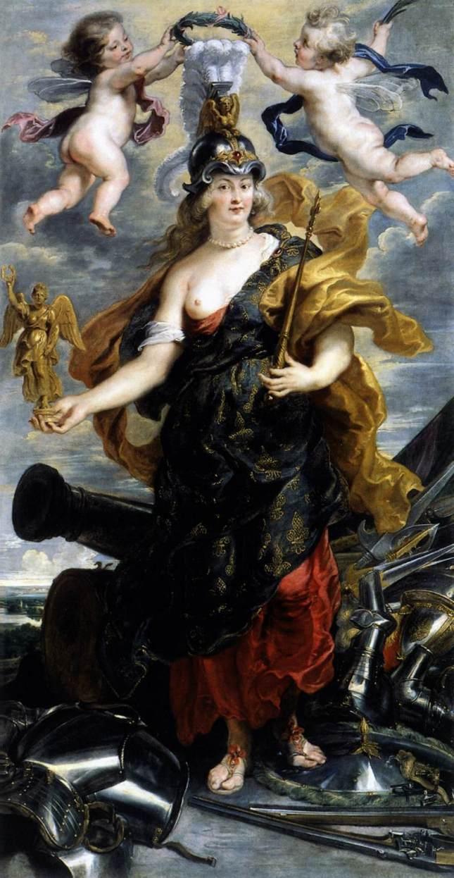 María de Médici como Belona
