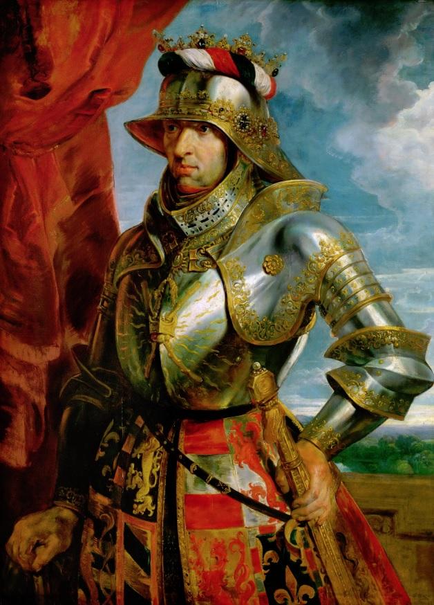Retrato de Maximiliano I de Habsburgo