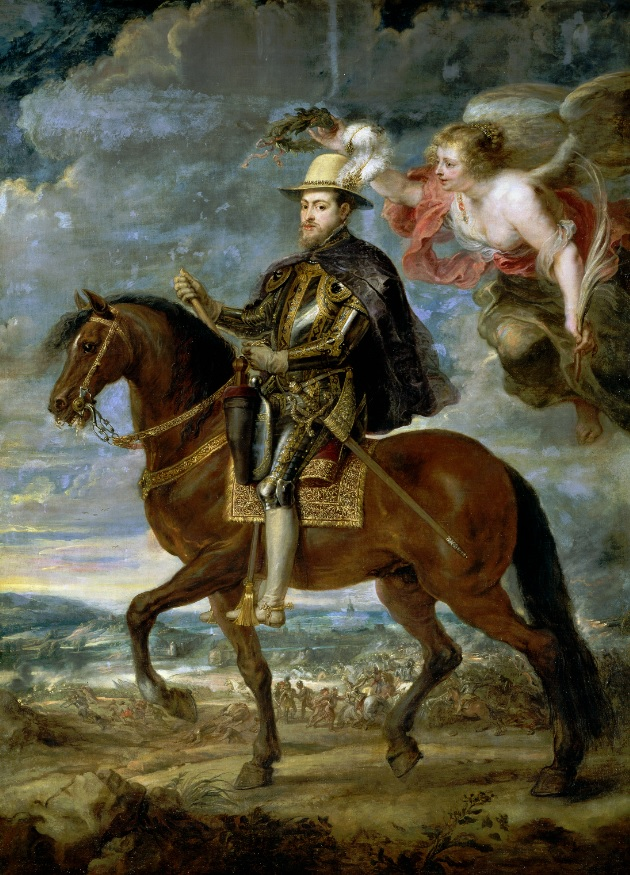 Retrato ecuestre de Felipe II