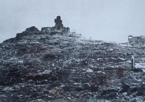 Santuario de la Virgen de la Cabeza bombardeado