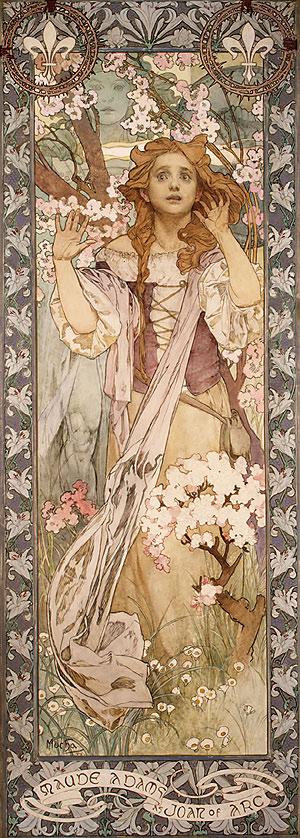 Maude Adams como Juana de Arco