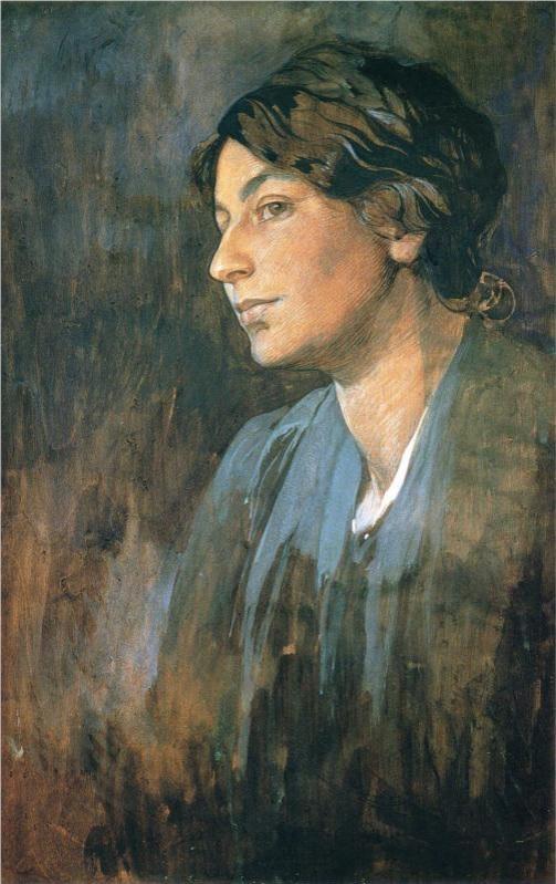 Retrato de Marushka