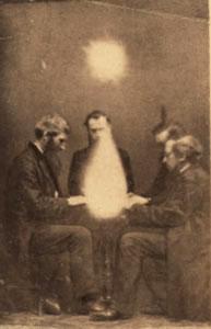 Séance dirigida John Beattie, (Bristol, England, 1872)