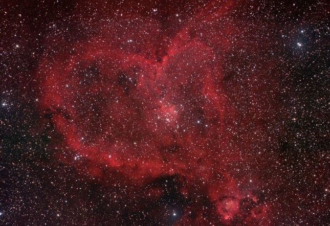 Nebulosa del Corazón (IC 1805)
