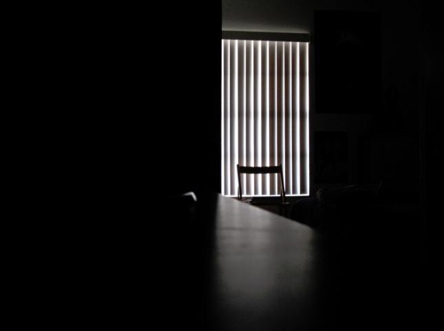Habitación a oscuras