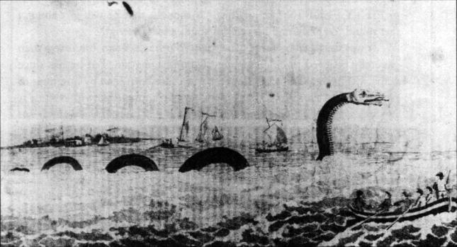 Serpiente marina Cape Ann (1639)