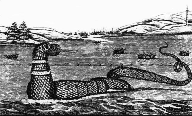 Serpiente marina Gloucester