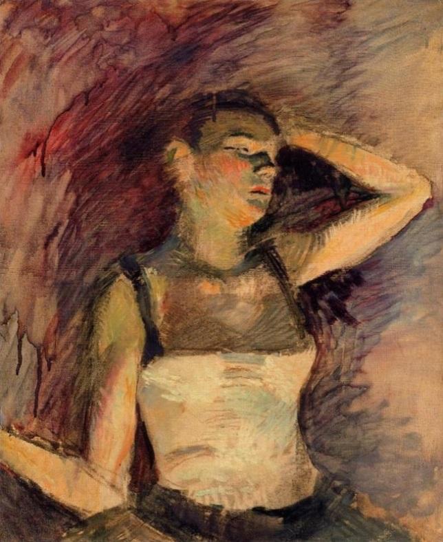 Estudio de una bailarina