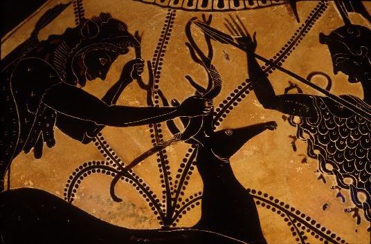 Hércules capturando a la Cierva de Cerinea