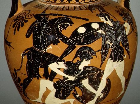 Hércules combate a las Amazonas