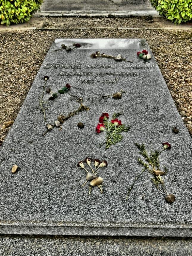 Tumba de Enrique Tierno Galván