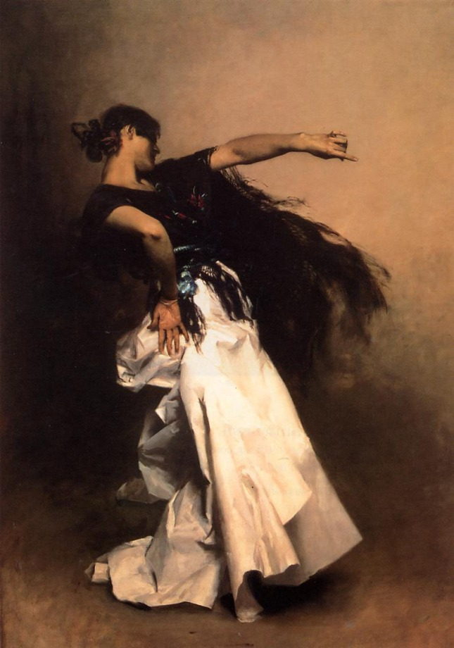 Bailarina española