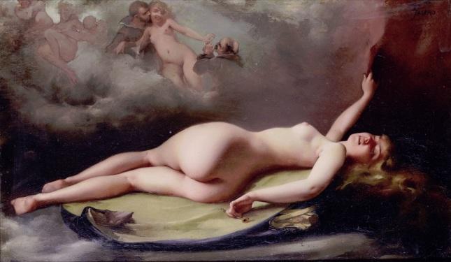 Desnudo reclinado