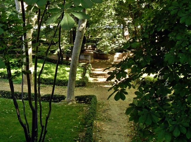 Jardín de la fuente de las ranas