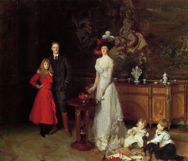La familia Sitwell