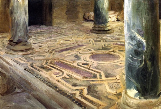 Mosaico en El Cairo