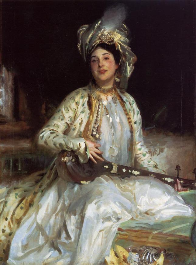 Retrato de Almina, hija de Asher Wertheimer