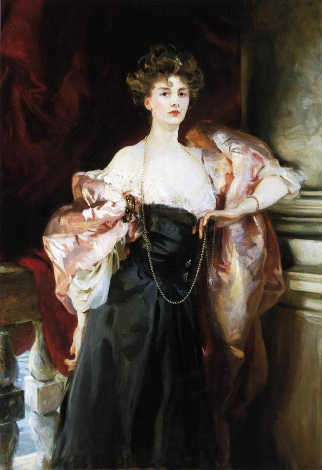 Retrato de Lady Helen Vincent en Venecia