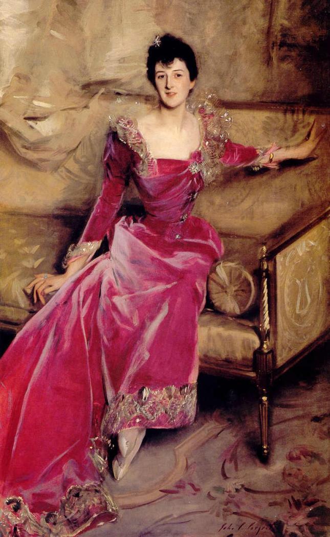 Retrato de Mrs Hugh Hammersley
