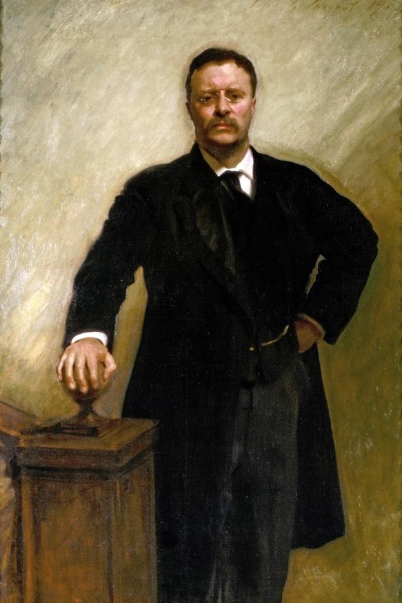 Retrato de Theodore Roosevelt