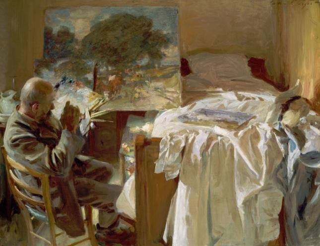 Un artista en su estudio