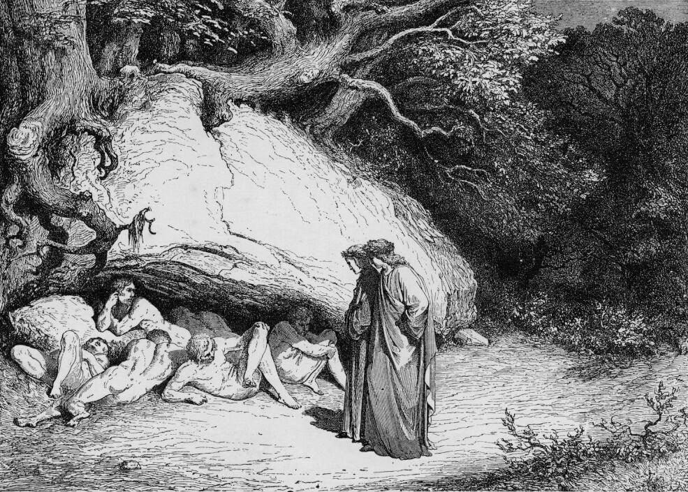 Los Nueve Círculos del Infierno de Dante. (2/6)