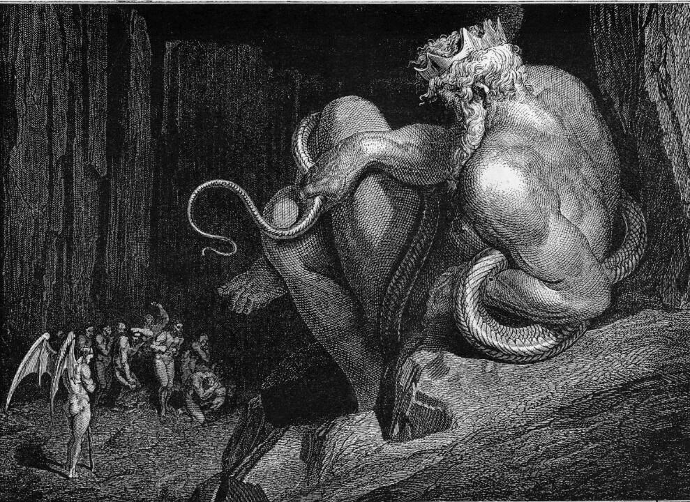 Los Nueve Círculos del Infierno de Dante. (3/6)