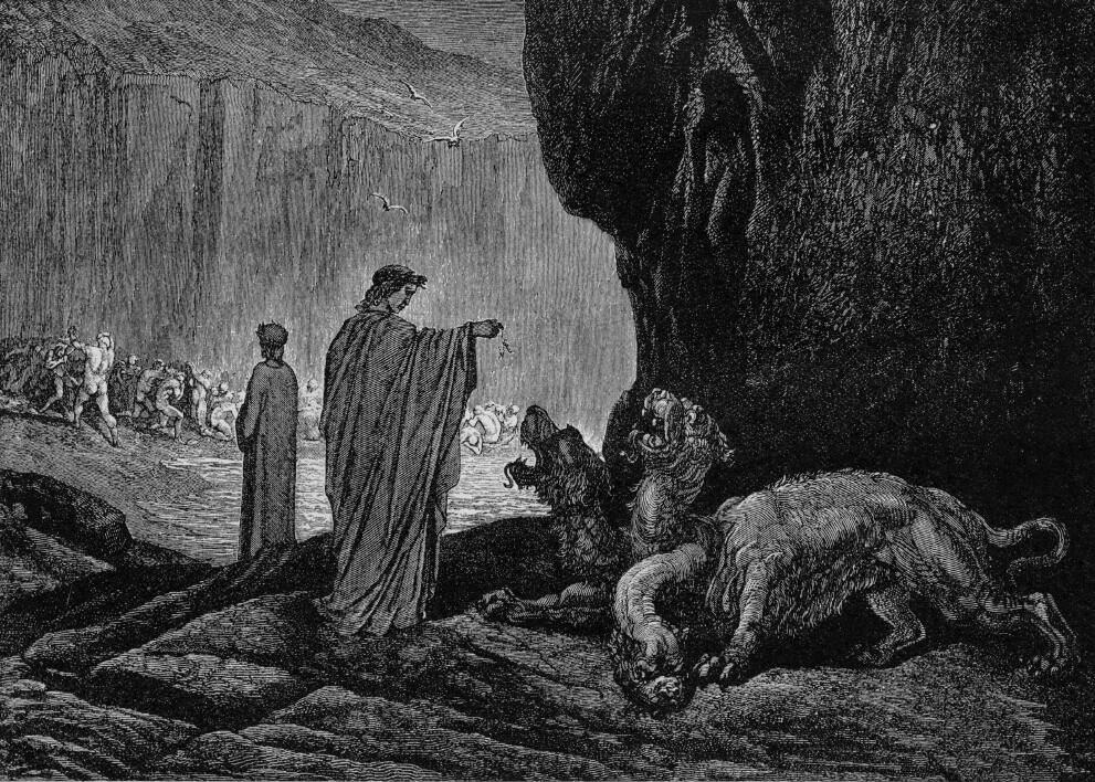 Los Nueve Círculos del Infierno de Dante. (4/6)