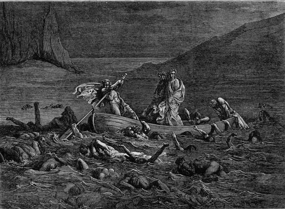 Los Nueve Círculos del Infierno de Dante. (6/6)