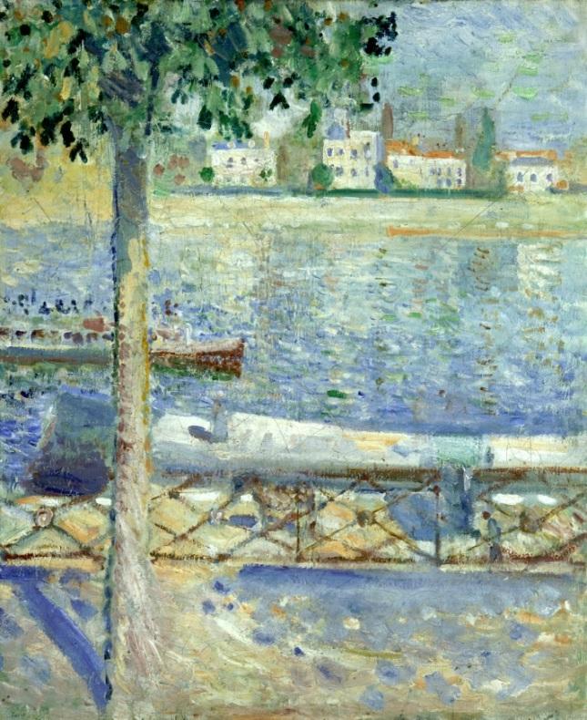 El Sena en Saint-Cloud