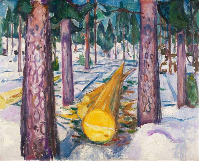 El tronco amarillo