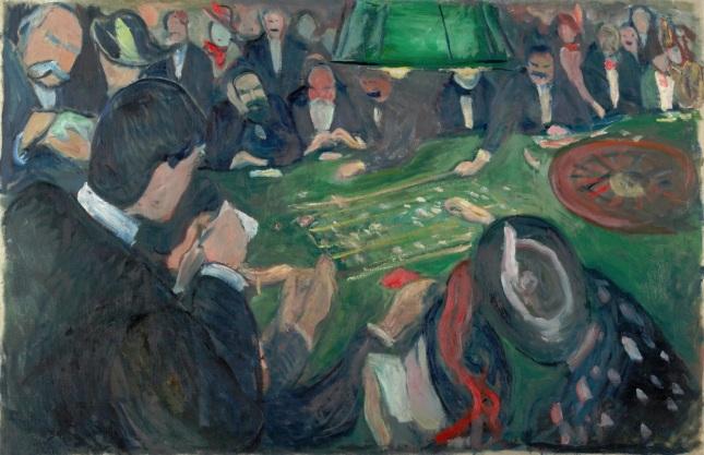 La mesa de ruleta en Montecarlo