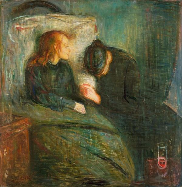 La niña enferma