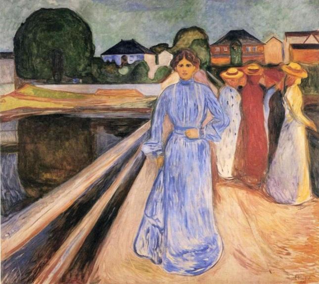 Mujeres en el puente