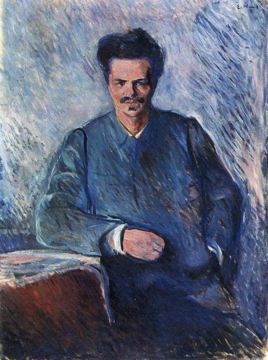 Retrato de August Strindberg