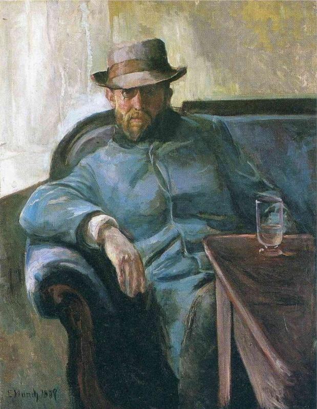 Retrato del escritor Hans Jaeger